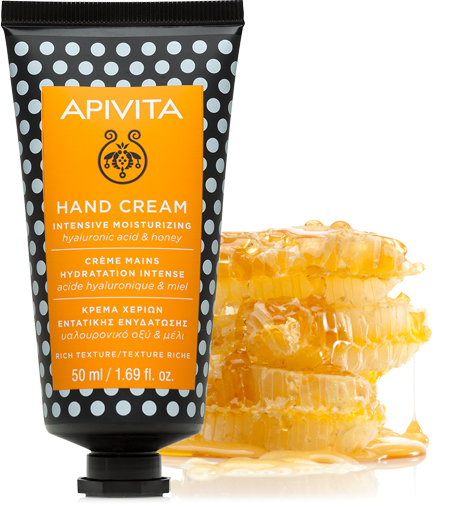 APIVITA HAND CARE MOISTURISING HAND CREAM WITH JASMINE AND PROPOLIS