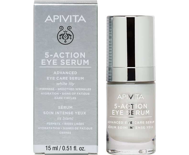 5-ACTION EYE SERUM Сироватка інтенсивного догляду 5 в 1 для шкіри навколо очей