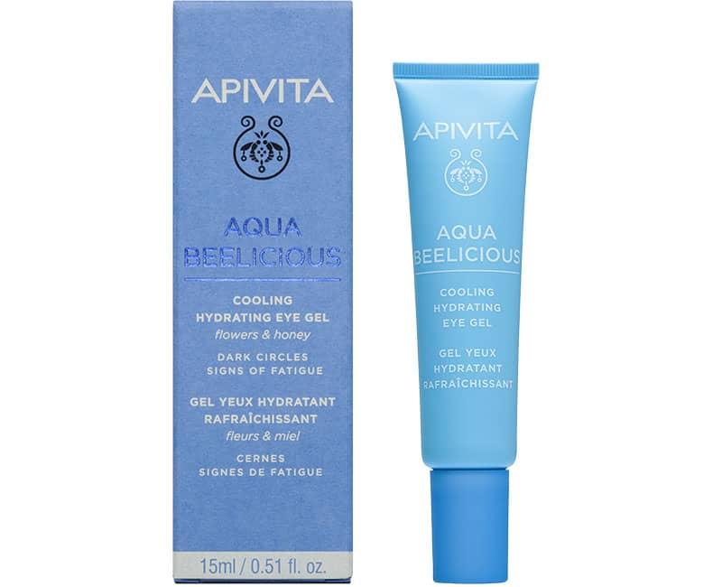 AQUA BEELICIOUS Увлажняющий гель для кожи вокруг глаз с охлаждающим эффектом