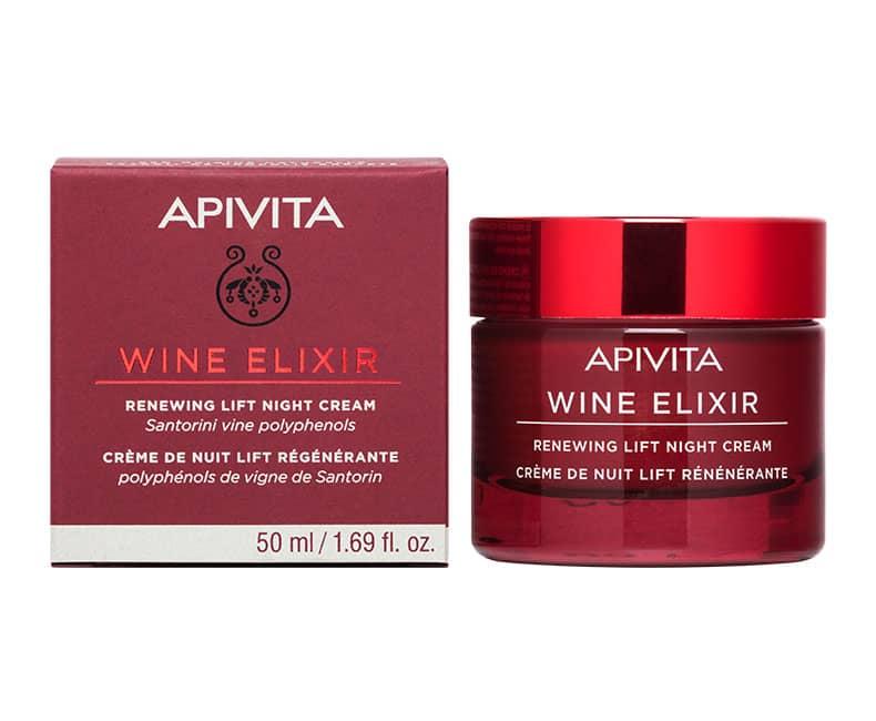 WINE ELIXIR Ночной крем-лифтинг для восстановления кожи