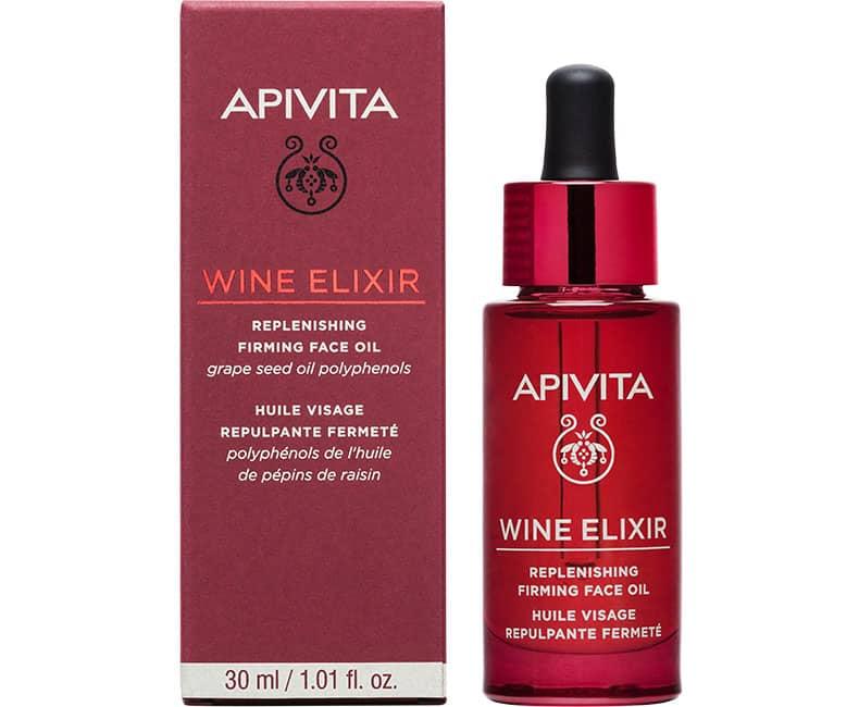 WINE ELIXIR Олія для відновлення та підвищення пружності шкіри обличчя