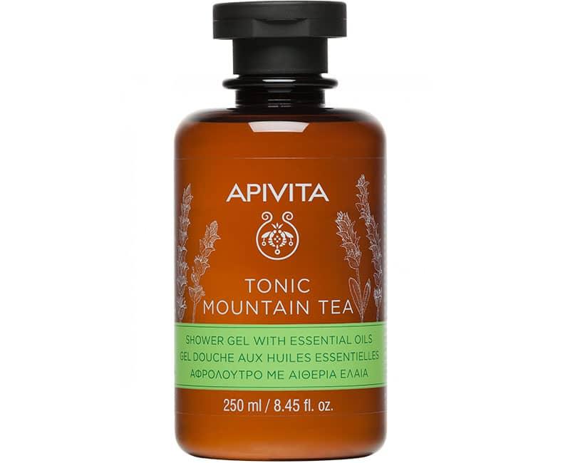 TONIC MOUNTAIN TEA Гель для душа с эфирными маслами